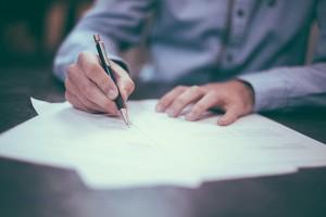 里親と元親の間で作成する譲渡契約書