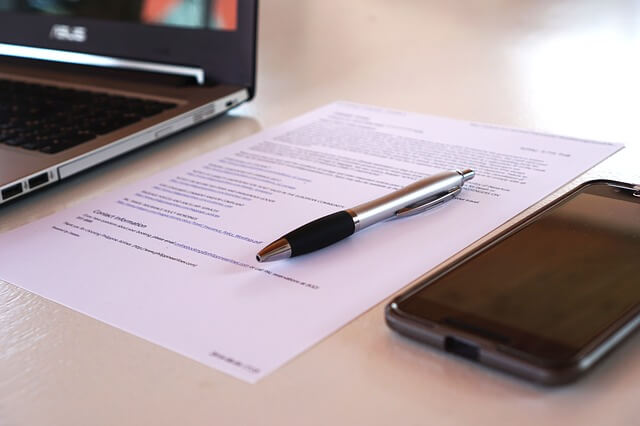 譲渡契約書の締結と保管方法